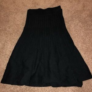 Cabi XL stretchy black skirt